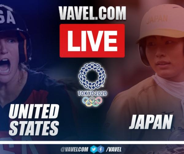 Olympics Softball Highlights and Runs: USA 2- 1 Japan in Tokio 2020