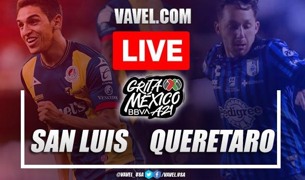 Atletico San Luis vs Queretaro: Live Stream, Score Updates and How to Watch Liga MX Match
