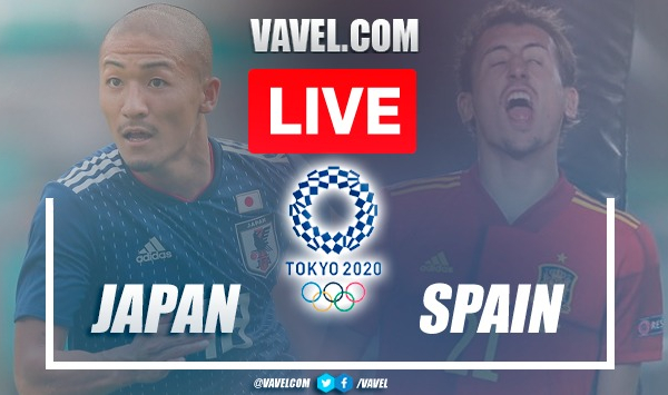 Japan vs Spain: Live Stream, Score Updates and How to Watch Tokyo 2020 Semifinal Match