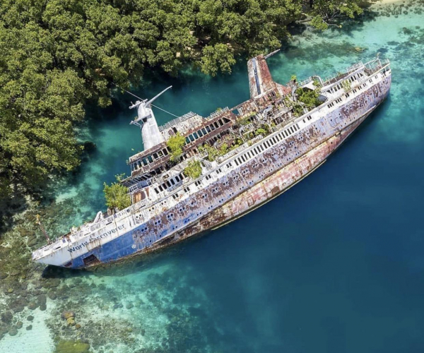 Shipwreck Series (II): The 'World Discoverer'