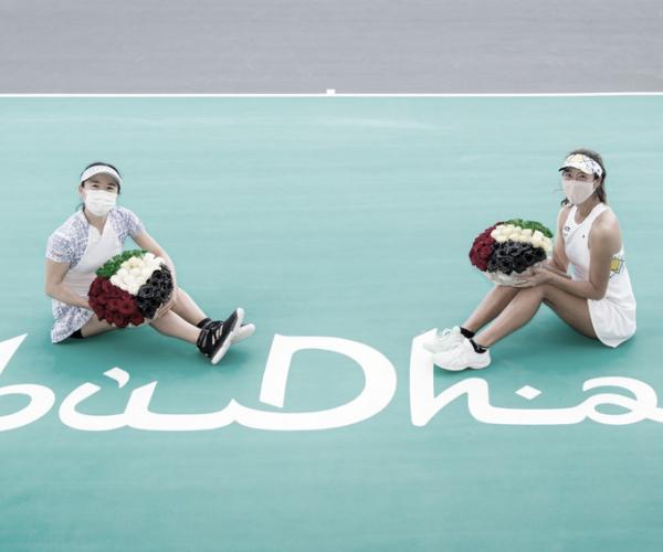 Carter/Stefani perdem para Aoyama/Shibahara na final do WTA de Abu Dhabi