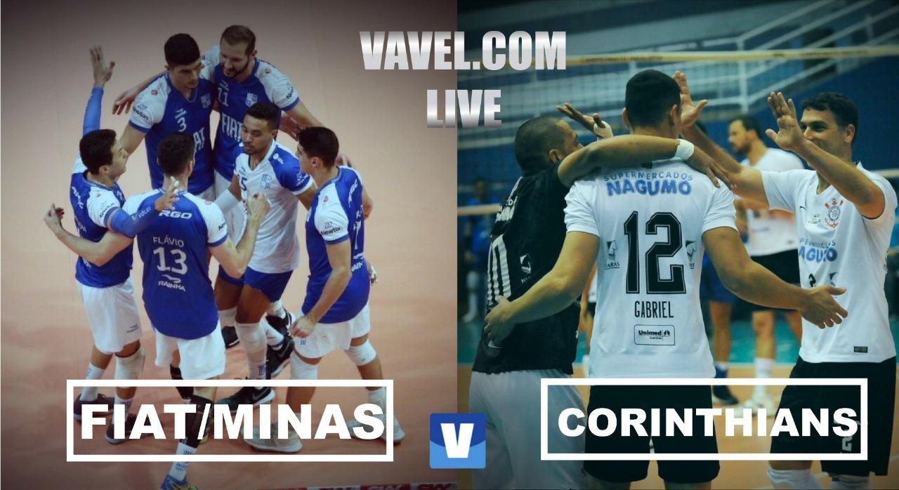 Resultado Fiat/Minas x Corinthians-Guarulhos pela Superliga Masculina (3-1)