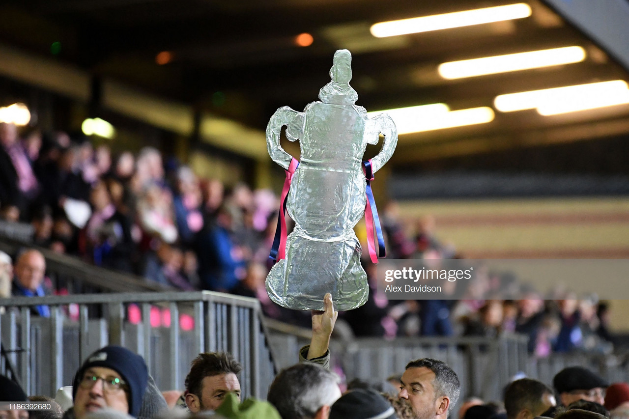The FA Cup Burden Bromley FC and Bristol Rovers Face