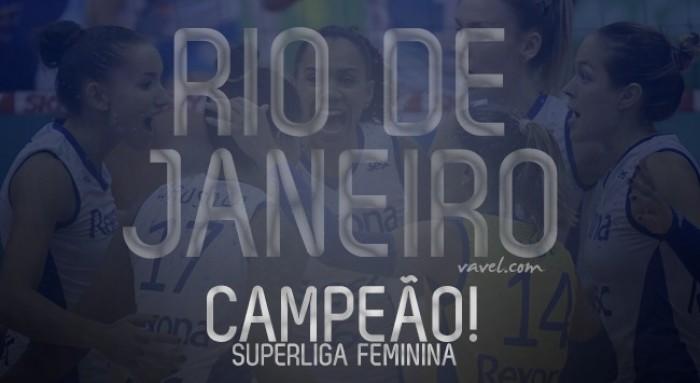 Rio de Janeiro vence Osasco no tie-break e conquista 12º título de Superliga