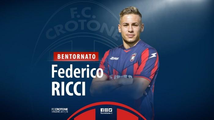 Crotone: ufficiale il ritorno di Ricci, piace Giannetti. La rosa si prepara intanto al Verona