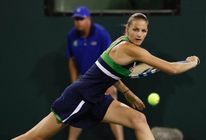 Indian Wells 2017 - Kuznetsova e Ka.Pliskova in semifinale