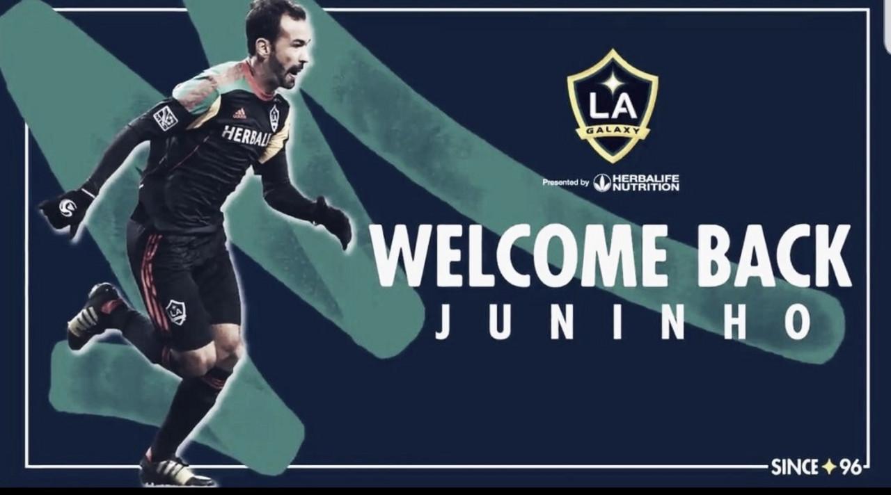 Juninho vuelve a LA Galaxy