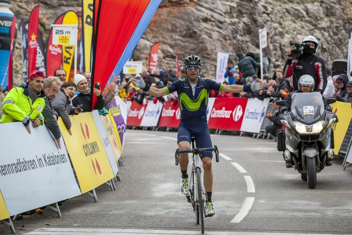 Giro Catalogna: Vince Valverde la tappa pirenaica, Van Garderen leader