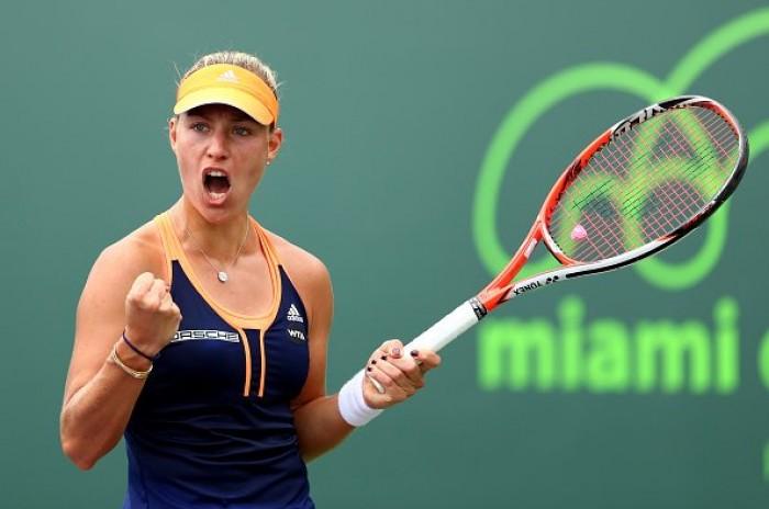WTA - Miami Open 2017, il tabellone femminile: la parte alta, guida la Kerber, c'è la Vinci