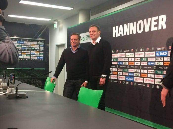André Breitenreiter replaces Daniel Stendel at Hannover