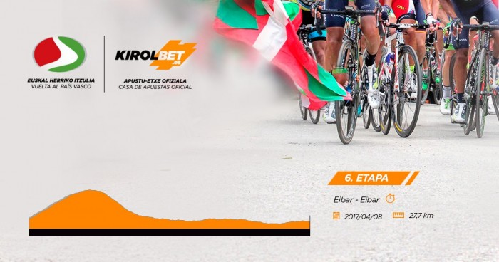 Giro dei Paesi Baschi 2017, 6° tappa - La presentazione, Eibar – Eibar: crono decisiva