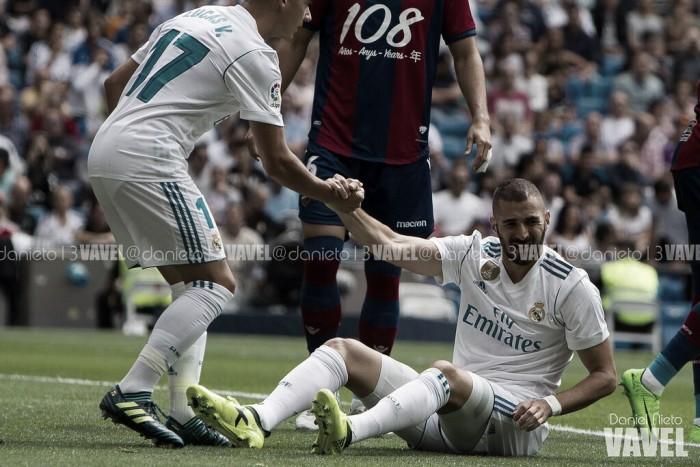 Theo y Benzema, a recuperarse en el parate