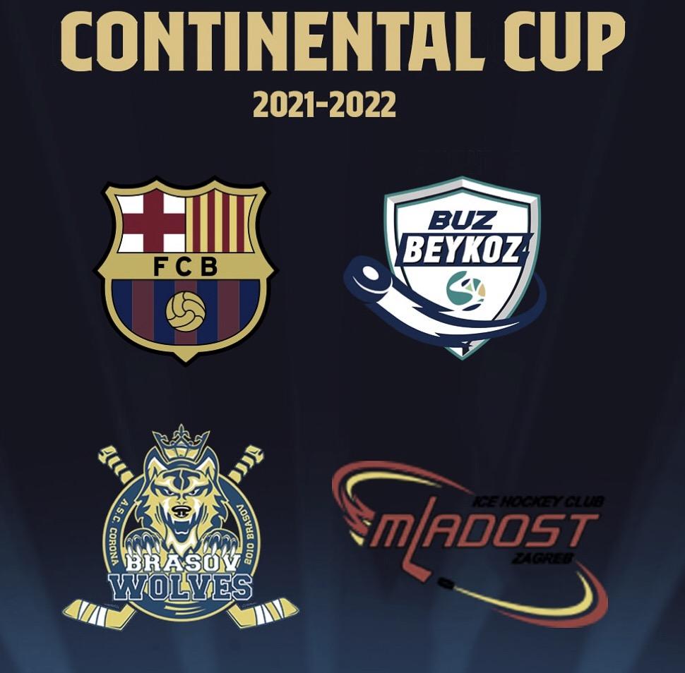 Barça HG compite este fin de semana en la Continental Cup