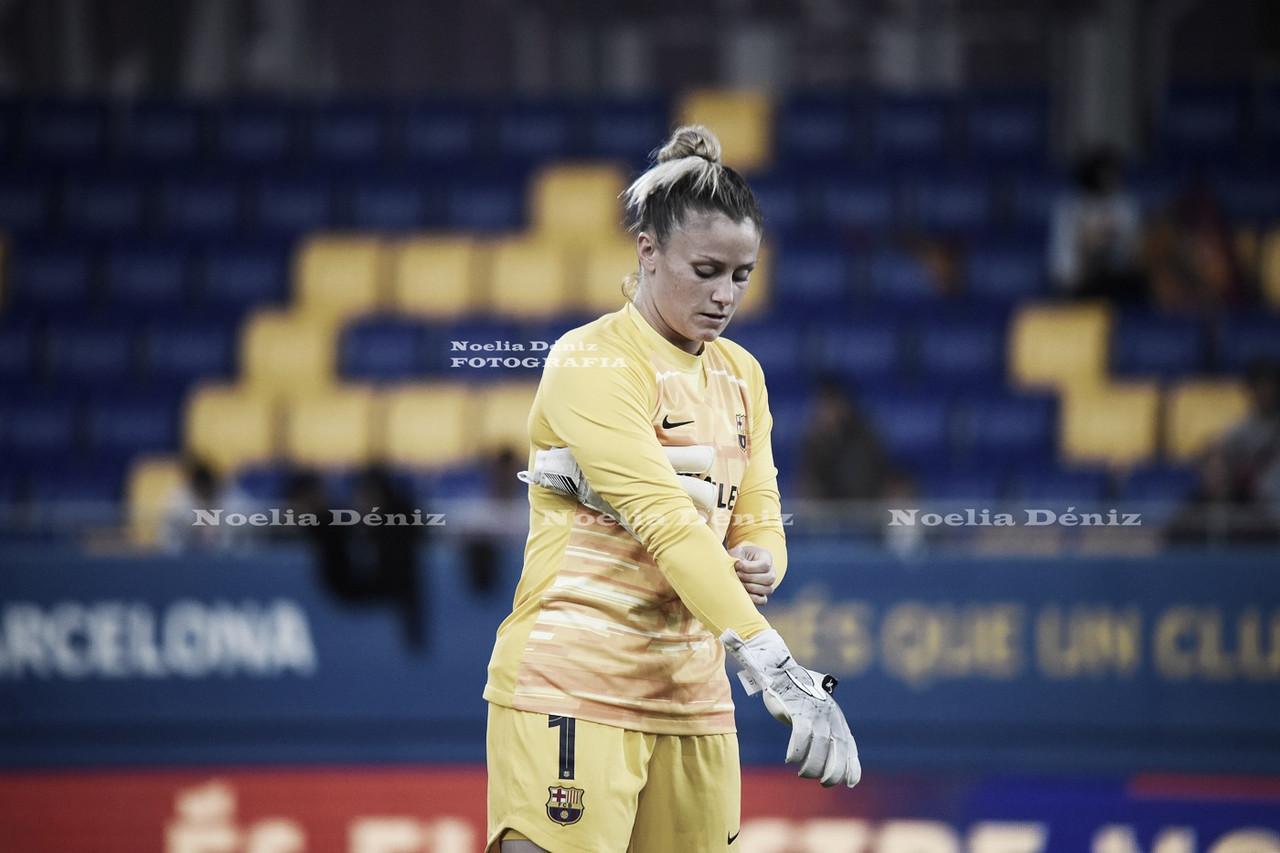 Sandra Paños, nominada a portera de la temporada de la UEFA Women's Champions League