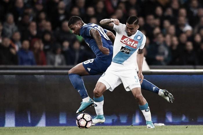 Serie A: l'attacco del Napoli sbatte contro il muro della Juventus, a Khedira risponde Hamsik (1-1)