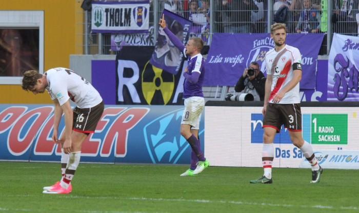 Erzgebirge Aue 1-0 FC St. Pauli: Adler stunner moves Violas out of bottom three