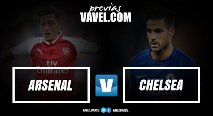 Na abertura da temporada, Arsenal e Chelsea se enfrentam na Supercopa da Inglaterra