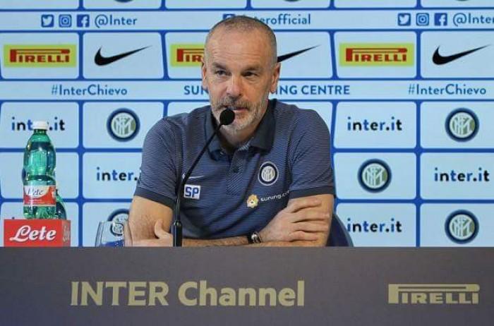 """Inter, Pioli in conferenza: """"Terzo posto? Non dobbiamo porci limiti"""""""