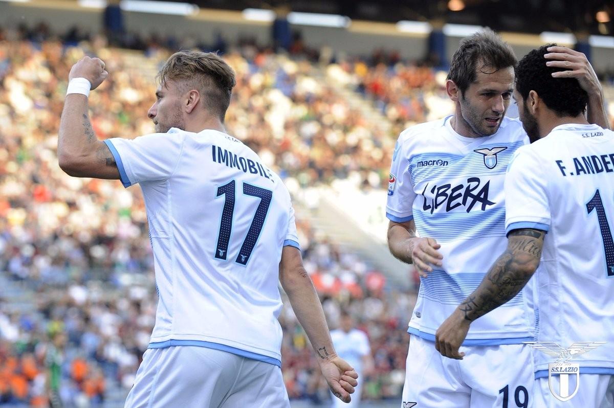 Lazio - Immobile verso il recupero per la sfida con l'Inter