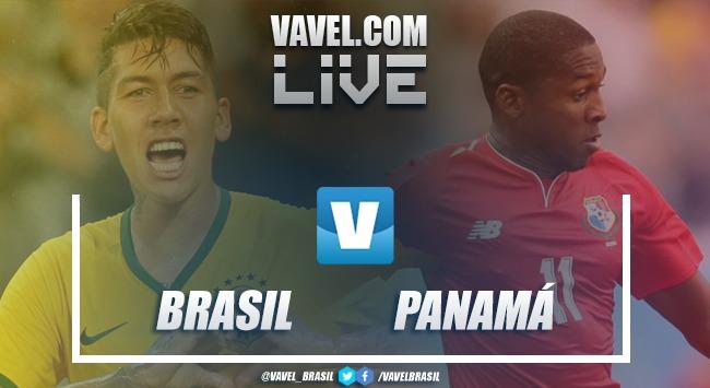Brasil x Panamá AO VIVO hoje (1-1)