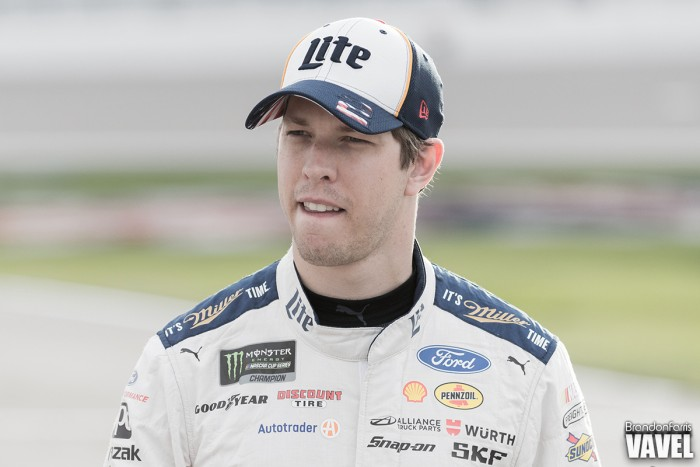 Brad Keselowski Wins Pole for Pure Michigan 400