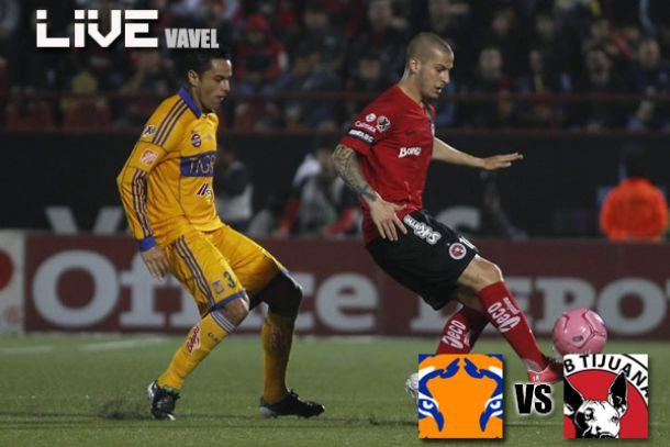 Tigres - Xolos en Liga MX 2014  (1-1)