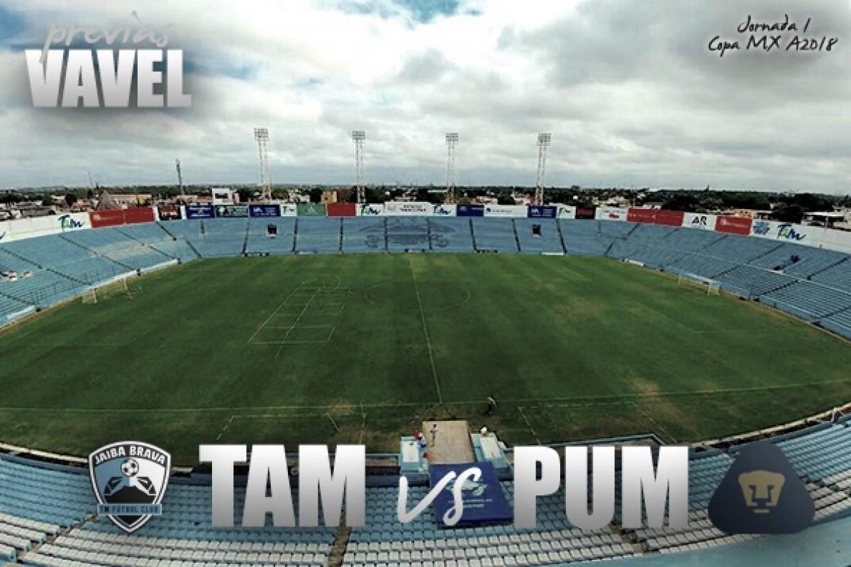 Previa Tampico Madero – Pumas: la conquista de la copa comienza