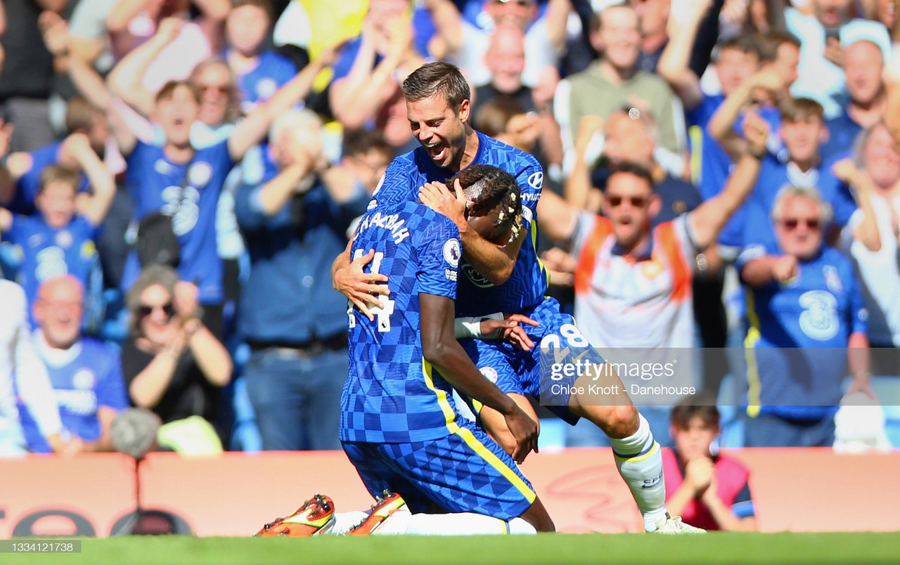 Chelsea 3-0 Crystal Palace: Trevoh Chalobah scores on his Premier League debut as dominant Chelsea get off to winning start