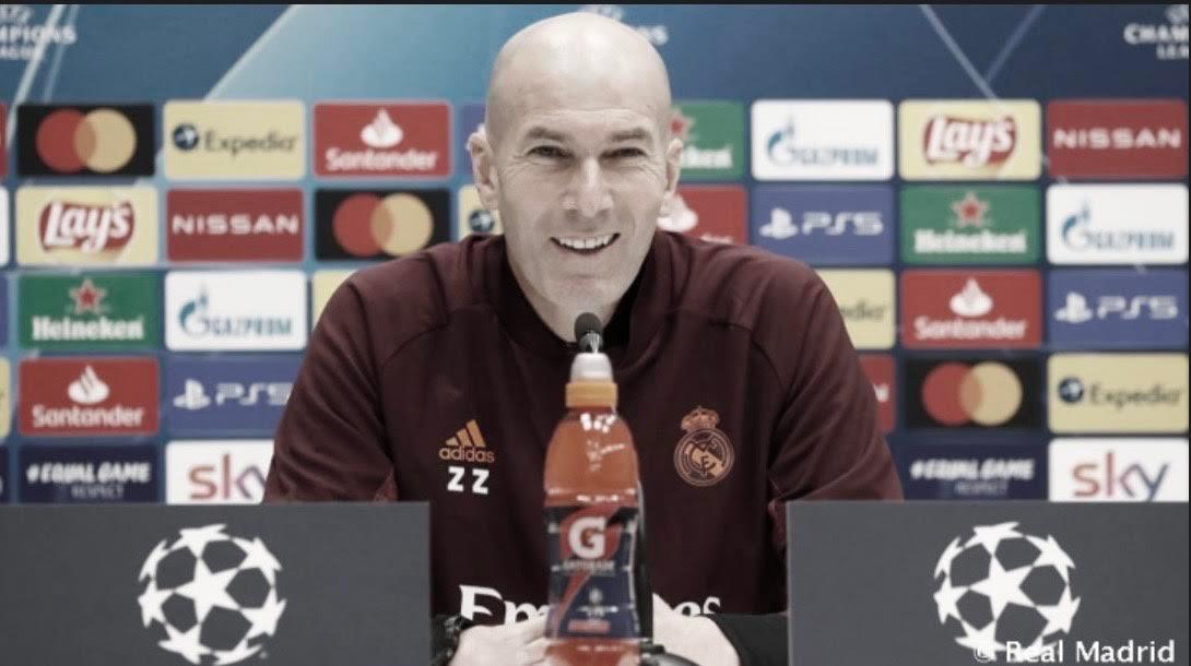 """Zidane: """"Hay que hacer las cosas juntos así haremos cosas grandes"""""""