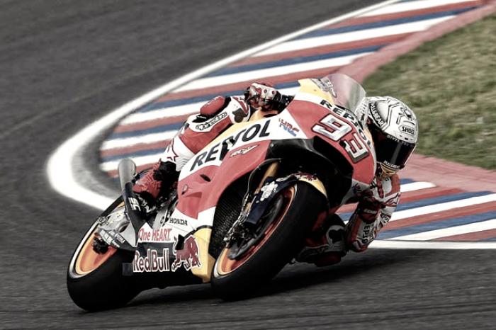 """MotoGP, Marquez si riprende la """"sua"""" Austin nelle FP2"""