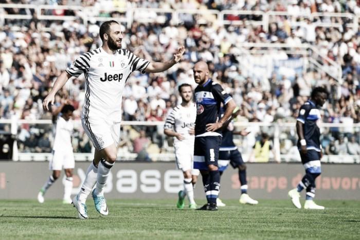 Juventus - Le parole di Higuain e Allegri dopo la vittoria di Pescara