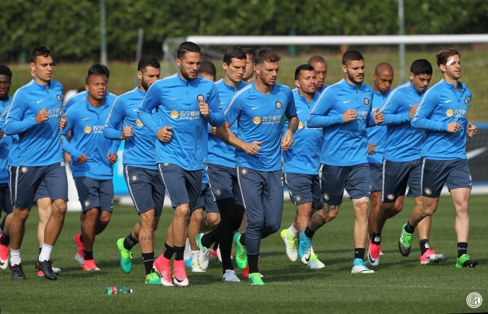 Inter, da oggi ritiro pre-derby