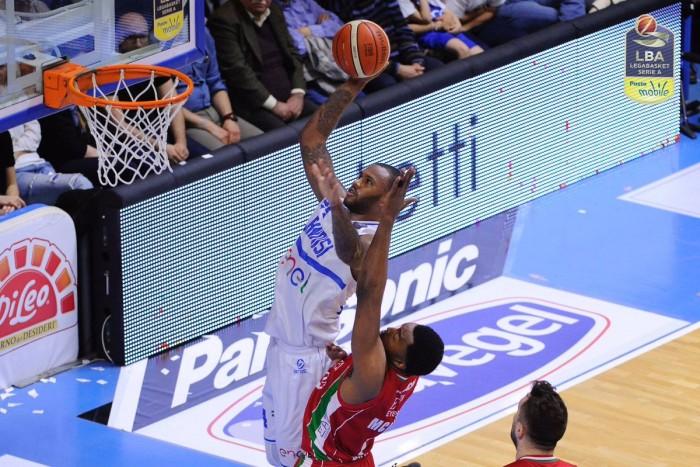 Legabasket - Brindisi soffre ma batte Milano (70-68)