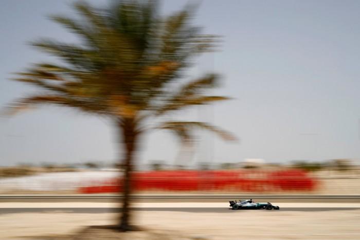 F1 - Nei test conduce Hamilton davanti a Giovinazzi