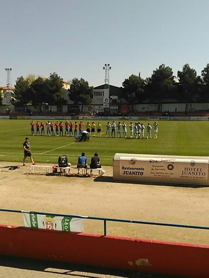El Córdoba B deja virtualmente en Tercera a La Roda