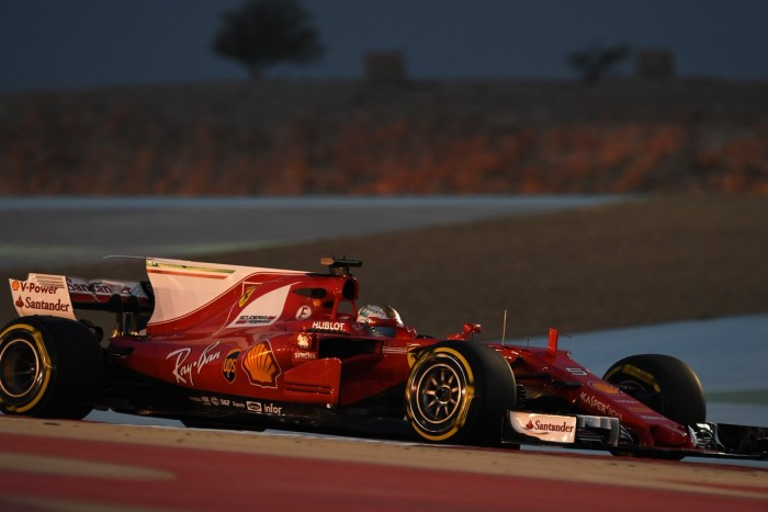 F1, Gp Bahrain - Vettel si conferma nelle Fp2