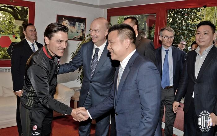 Milan, inizia l'era di Yonghong Li con Fassone già proiettato sul mercato