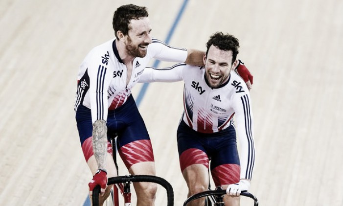 Track World Championships: Mark Cavendish and Sir Bradley Wiggins claim Madison gold after epic ride