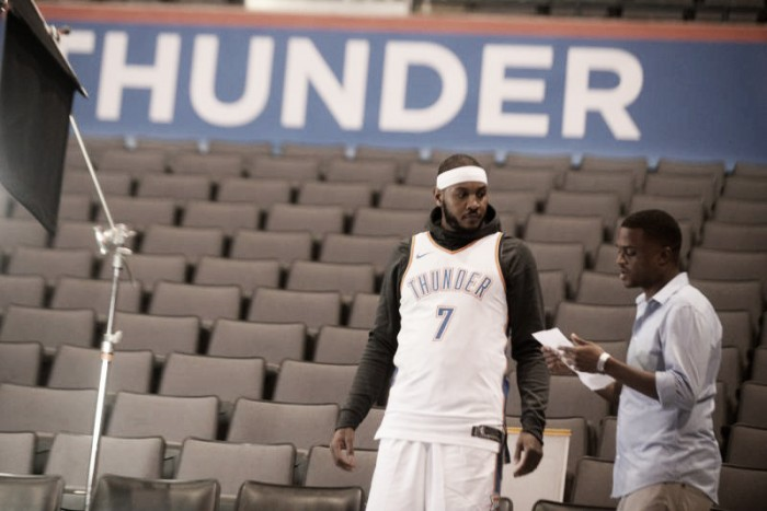 NBA, il Media Day degli Oklahoma City Thunder