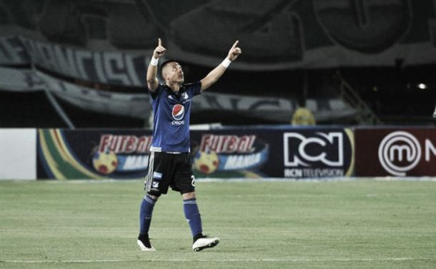 Fernando Uribe volvió al gol