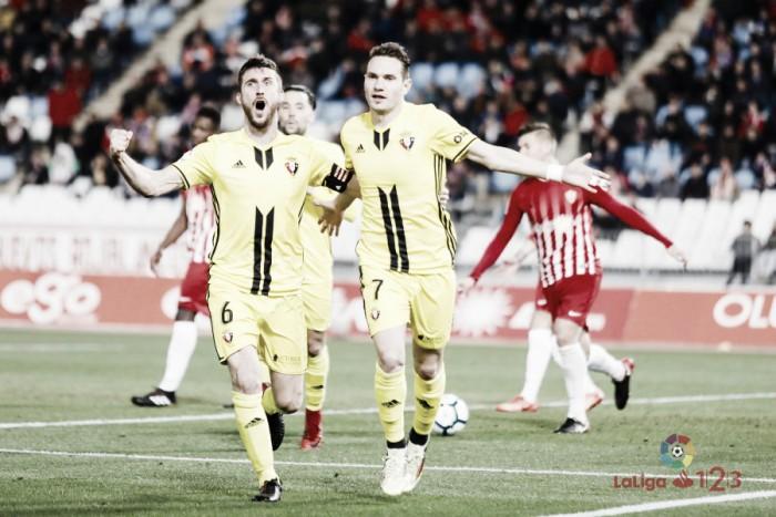 Ojeando al rival del Reus: Osasuna, una piedra en el camino