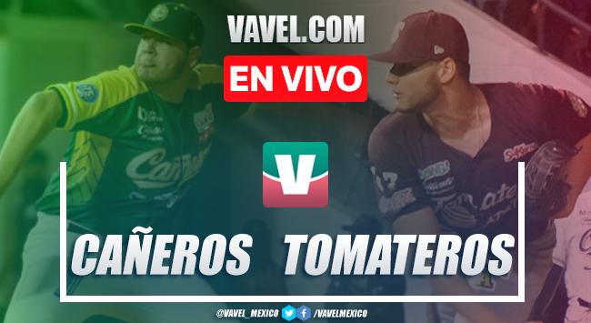 Resultado y carreras: Tomateros de Culiacán (0-4) Cañeros de Los Mochis, Juego 4 Semifinales LMP 2020