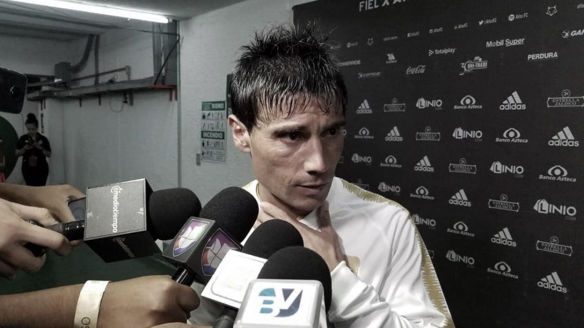 """Matías Alustiza: """"Ahora me debo a Pumas"""""""