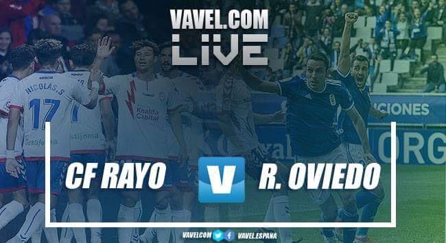 Resumen Rayo Majadahonda vs Real Oviedo en LaLiga 1 2 3 2018 (1-0)