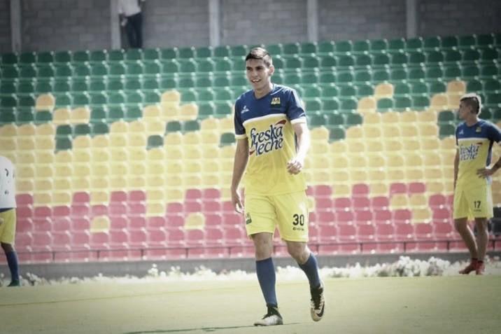 Johan Caballero, nuevo jugador de Santa Fe