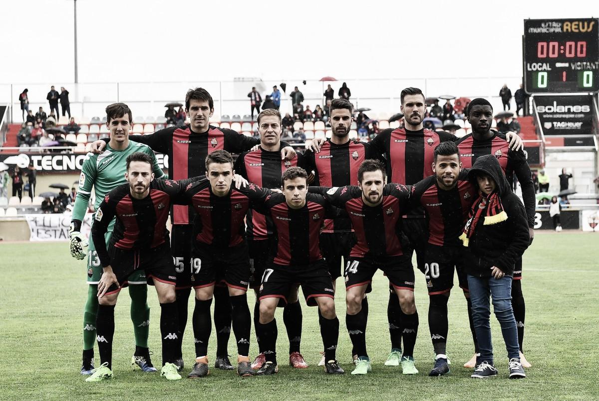 CF Reus - Cádiz CF: puntuaciones Reus, jornada 35 Segunda División
