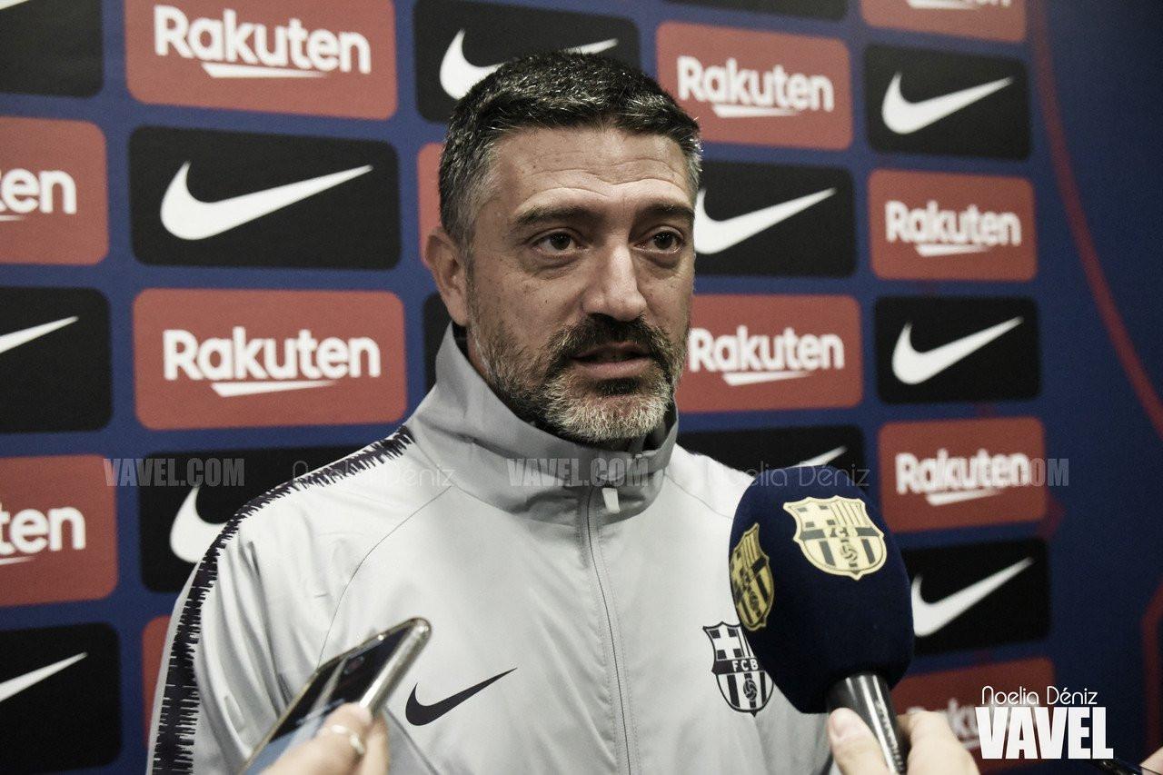 """García Pimienta: """"Estoy muy contento, ganar no era fácil"""""""