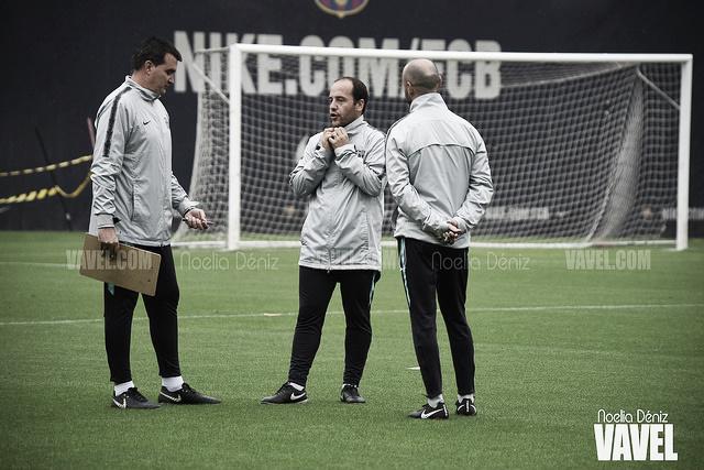 """Lluís Cortés: """"Quiero que las jugadoras interpreten la presión como una motivación"""""""