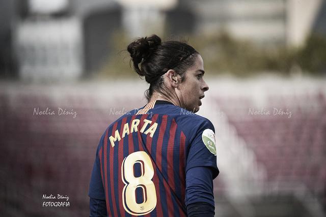 """Marta Torrejón: """"Es el partido más importante de la temporada"""""""