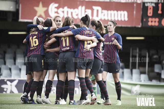 El Barcelona Femenino gana, pero acaba sufriendo